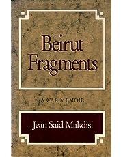 Beirut Fragments: A War Memoir