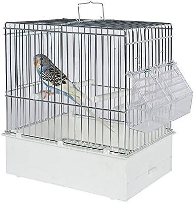 Pet Ting Jaula de Transporte para pájaros, tamaño XL, Jaula de Viaje para pájaros – Finch – Canario – Budgie etc.