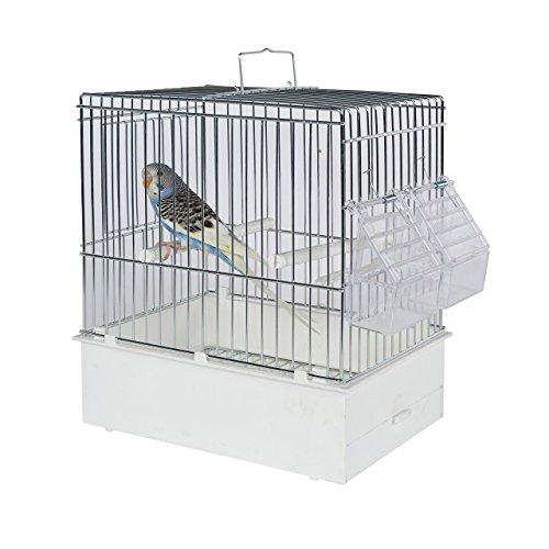 Pet Ting Bird Transport Cage XL - Bird Travel Cage - Finch