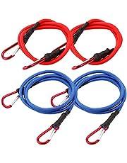 Cartman UV Treated Bungee Cord with Hook 4PK