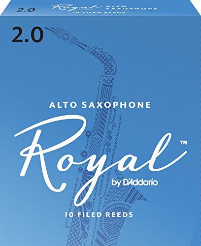 Royal by D'Addario Alto Sax Reeds, Strength