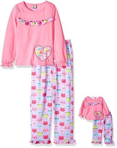 Dollie Me Girls Heart Sleepwear