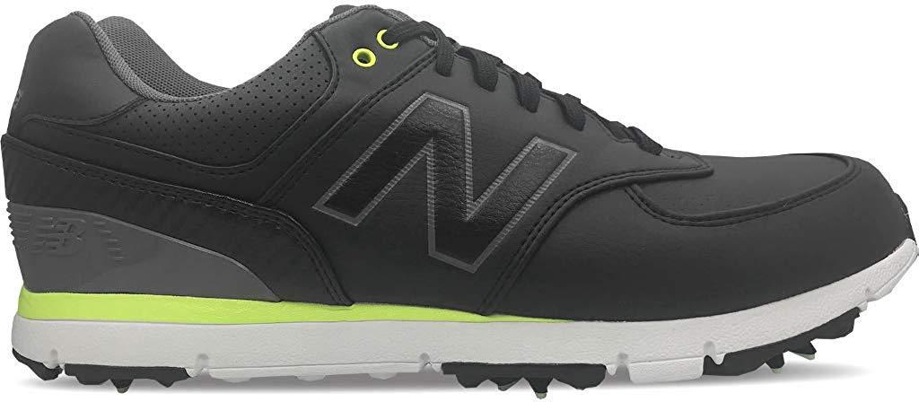 New Balance Nbg 574 Classic 15 Golf Shoes Black Lime 14 Medium