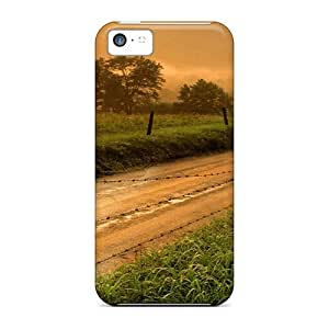 Apple Iphone 5c STU918LgXy Customized Lifelike Mistery Of An Early Morning Series Protector Hard Cell-phone Cases -icase88