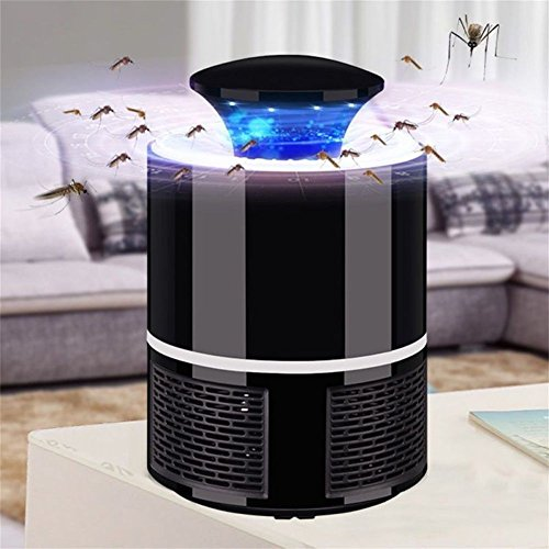YESIDO PElectric Mosquito Insect Zapper Killer with Trap Lamp, Chemical-free USB Powered UV LED Light Photocatalyst Fly Bug Dispeller with Suction Fan for Indoor Home Elimination Machine by YESIDO (Image #1)