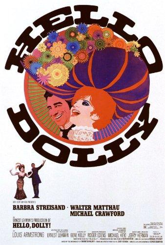 Hello Dolly Poster B 27x40 Barbra Streisand Walter Matthau Michael Crawford (Poster Streisand Barbra)