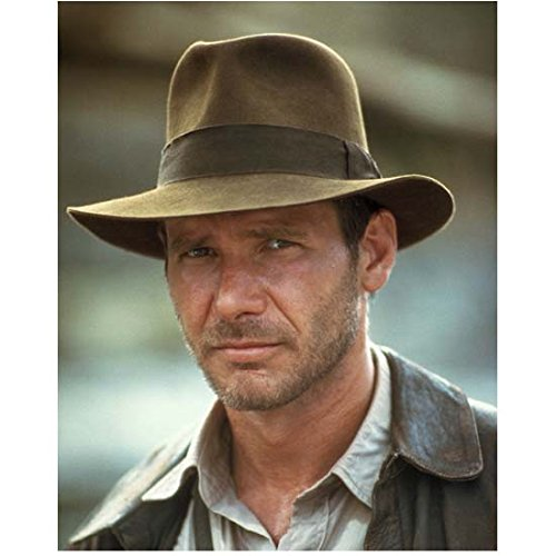 Harrison Ford 8 inch x10 inch Photo Air Force One Star Wars Raiders of the Lost Ark Head Shot in Fedora Eyes Looking Left kn