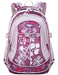 Neverland Cute Bowknot Book Bags for Girls Elementary School Backpack for Kids