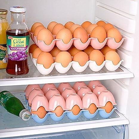 GuiXinWeiHeng Caja de la Bandeja de los Huevos del Pato de la Caja de Huevos del