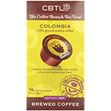 CBTL Colombia Brew Coffee Capsules By The Coffee Bean & Tea Leaf, 16-Count Box