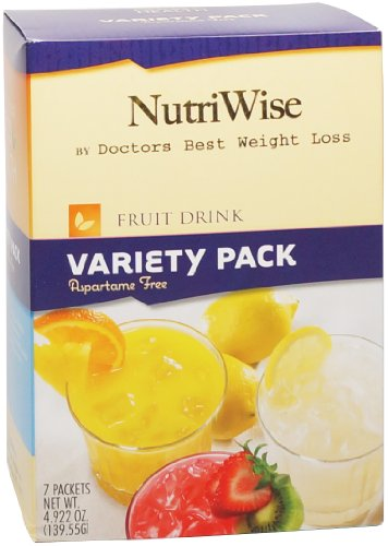NutriWise - Protein Diet Fruit Boissons - Variety Pack (7 paquets / boîte)