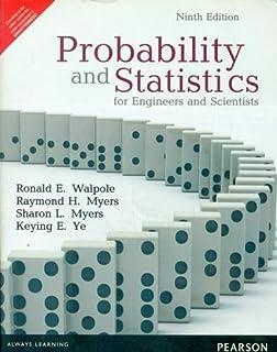 Amazon Com Probability Statistics For Engineers Scientists