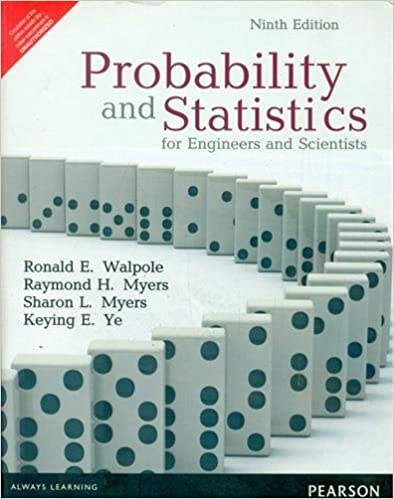 Probability And Statistics For Engineers And Scientists Walpole Pdf