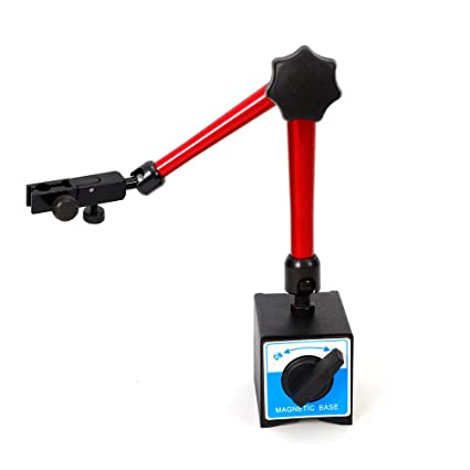 350mm Universal Adjustable Dial Test Gauge Indicator Rotary Magnetic Stand Base Holder Tool: Amazon.com: Industrial & Scientific