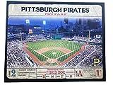 Artissimo Designs Plank Sports Stadium and Arenas Canvas Artwork (Pittsburgh Pirates)