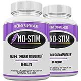 No-Stim 2 Pack- Non Stimulant Fat Burner Diet Pills That Work- No Stimulant Appetite Suppressant & Best Caffeine Free…