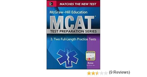Mcgraw hill education mcat 2 full length practice tests 2015 mcgraw hill education mcat 2 full length practice tests 2015 cross platform edition 9780071824415 medicine health science books amazon fandeluxe Gallery
