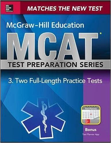 Mcgraw hill education mcat 2 full length practice tests 2015 mcgraw hill education mcat 2 full length practice tests 2015 cross platform edition 1st edition fandeluxe Gallery
