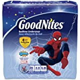 GoodNites Boys Underwear Small/Medium, Boy, 26 Count...