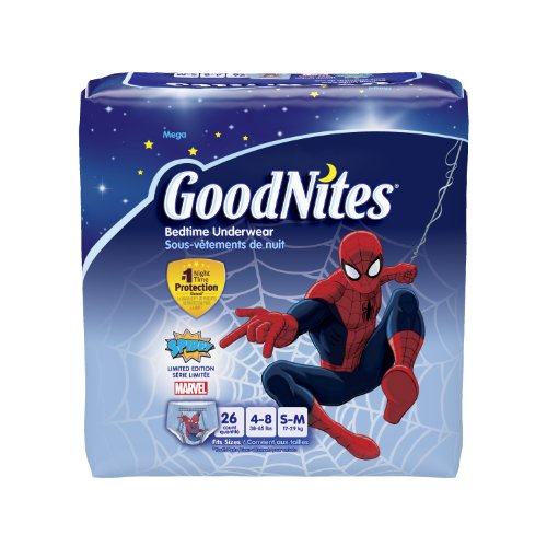 GoodNites Underwear Small Medium Packaging