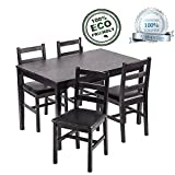 Dining Table Set, 5 Pieces Kitchen Dining Table - Best Reviews Guide