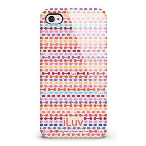 Iluv ICC763 Festival HARD CASE Iphone 4/4S RED