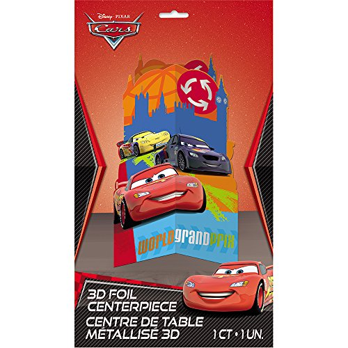 [Disney Cars Centerpiece Decoration, 11.5