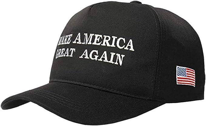 Stecto Trump Sombrero unisex hace que Estados Unidos sea genial otra vez Donald Trump Gorra de b/éisbol ajustable bordada gorra de b/éisbol gorra de malla republicana para hombres y mujeres