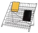 SSWBasics 6-Tier Black Wire Countertop Rack - 22' H x 29½'W x 18' D