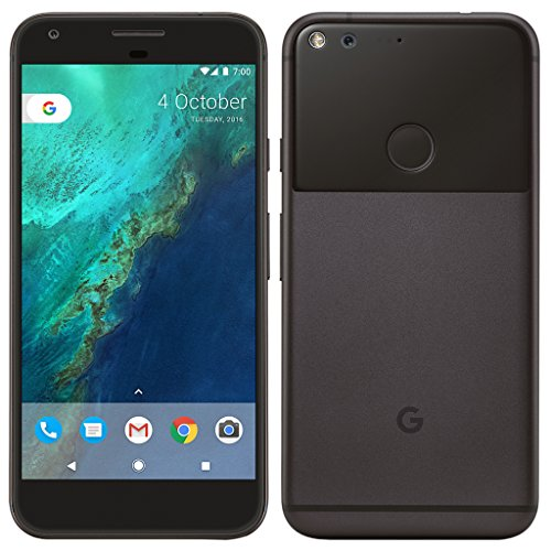 Google Pixel XL 128GB - 5.5'' Android GSM 4G LTE Factory Unlocked - International Version - Quite Black by Google