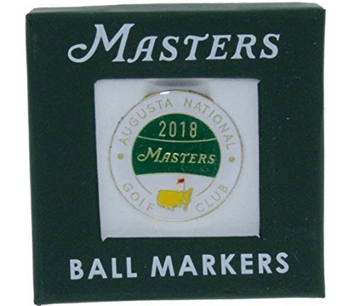 Masters 2018 Ball Marker from Augusta National Golf - National Golf Augusta Club Masters
