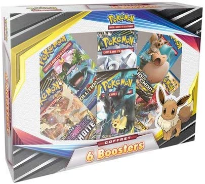 Coffret de 6 Boosters Pokemon