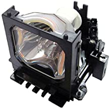 QueenYii Compatible Lamp for HITACHI HUSTEM SRP-3030 Projector Lamp with Housing