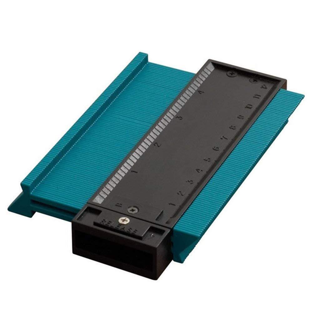 Multifunction Plastic Profile Copy Gauge Contour Gauge Duplicator Standard 5'' Width Wood Marking Tool Tiling Laminate Tiles Radius Wheel