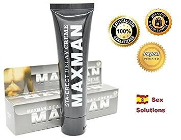 MAXMAN crema alargador de pene y desaparece la eyaculación ...