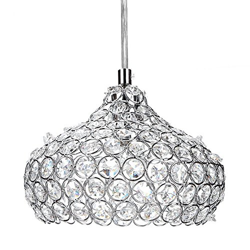 Leoneva Crystal Pendant light Chandeliers Wine Cup Shape Ceiling Light Fixture for Kitchen, Dining Room, Bedroom, Living Room by Leoneva (Image #3)