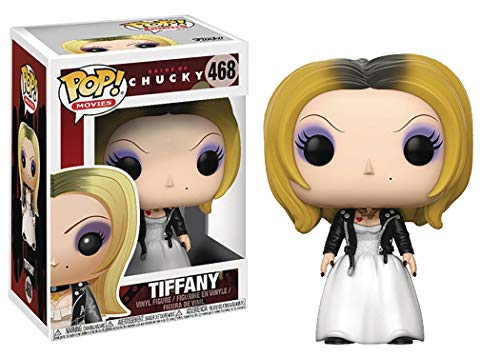 Funko Pop! Horror: Bride of Chucky - Tiffany Vinyl Figure (Includes Compatible Pop Box Protector Case)