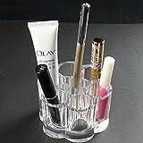 GLYBYCA Flower Cosmetic and Makeup Brush Holder - Organizer