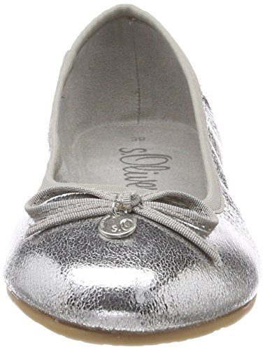 Met Silver 22105 Oliver Silver s Women's Ballet Flats 06aBqY