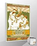 MLB St Louis Cardinals 2011 World Series Champions Canvas Print Sports Propaganda, Regular