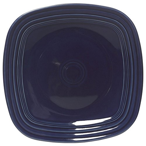 Homer Laughlin Fiesta Square Cobalt China Plate Cobalt - 7 1/2