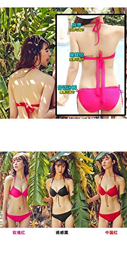 Wazr E Grande 80a Metallo In Xl 75c Puro Bagno Piccolo 80b Catena Con Da Bikini Segreta Seno Costume Segregato Fascia Sexy Acciaio 4aZwq4r