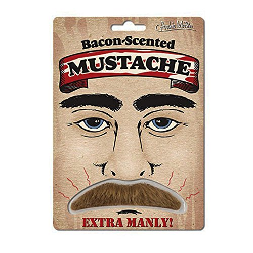 Extra Manly Bacon Scented Mustache