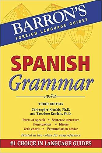 Amazon com: Spanish Grammar: Beginner, Intermediate, and Advanced