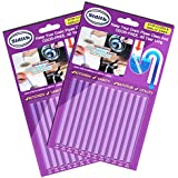 Sidith Clean Sticks 24 Pcs/2Pack Keeps Drains &Pipes Clear And Odor Free As Seen On TV Sewer Detergent Stick Detergent Toilet Kitch (Purple FBA)