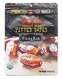 Wild & Raw Sun Dried Organic Deglet Noor Pitted Dates 5 Oz (1 Pack)