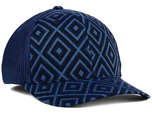 Hat Tribal Baseball (Kangol Tribal Blue Mesh Flexfit Hat Cap Large/X-Large)