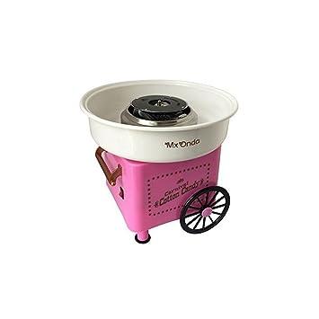 mx onda mx az2765 máquina de algodón de azúcar color rosa amazon