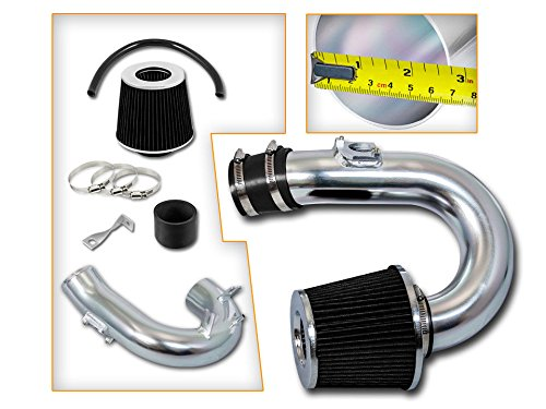 Velocity Racing Black Short Ram Air Intake Kit + Filter 00-05 for Toyota Celica GT 1.8L L4 ()