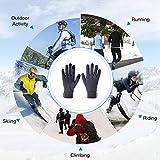 Aegend Lightweight Running Gloves Women Men Touch